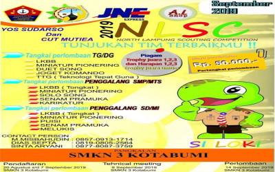 Nort Lampung Scouting Competition