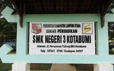 Website Resmi SMK Negeri 3 Kotabumi